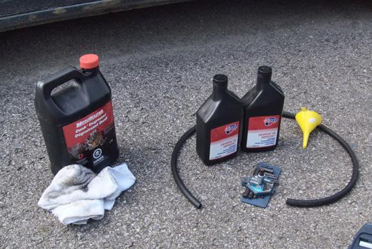 Комплектующие для замены жидкости АКПП