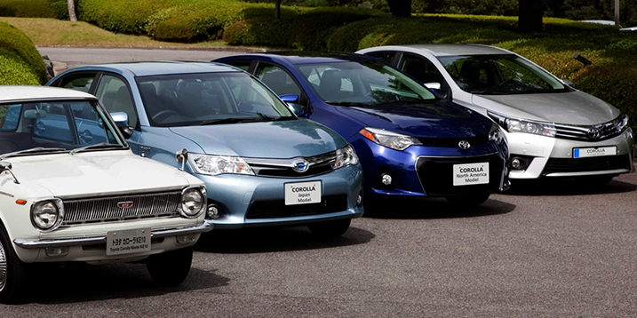 Автомобили Тойота Королла
